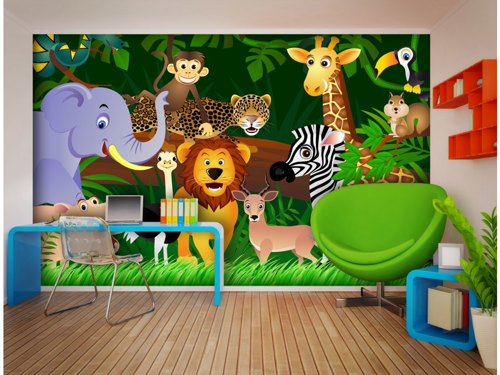 Fototapeta AG Design FTS 1307 Jungle 360 x 254 cm