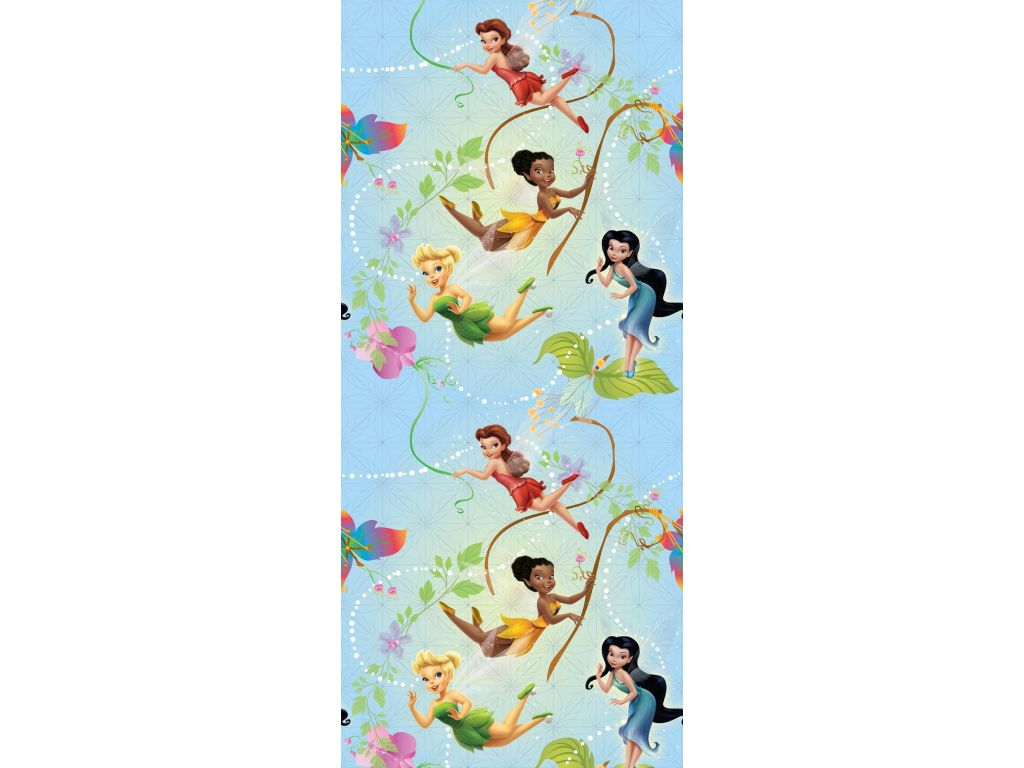 Tapeta vliesová Disney Fairies 0,53 m x 10,05 m